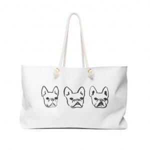 POP Frenchie Weekender Bag