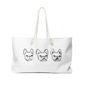 Frenchie Army Weekender Bag