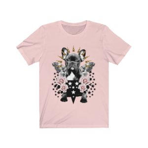 Black/Brindle Frenchie Rock On Tee
