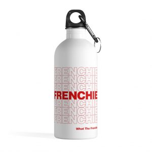 Thank You Frenchie Water Bottle