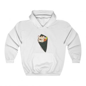 Frenchie Sushi Roll Hoodie