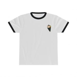 Frenchie Sushi Roll Ringer Tee
